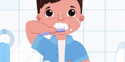 قصة عن اهمية تنظيف الاسنان (اسنان صالح)