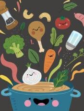 قصة عن اهمية الطعام للاطفال من راويتي تروي قصة