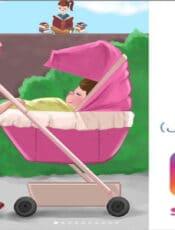 قصة لمساعدة الاطفال على تقبل الاخ الجديد من راويتي تروي قصة